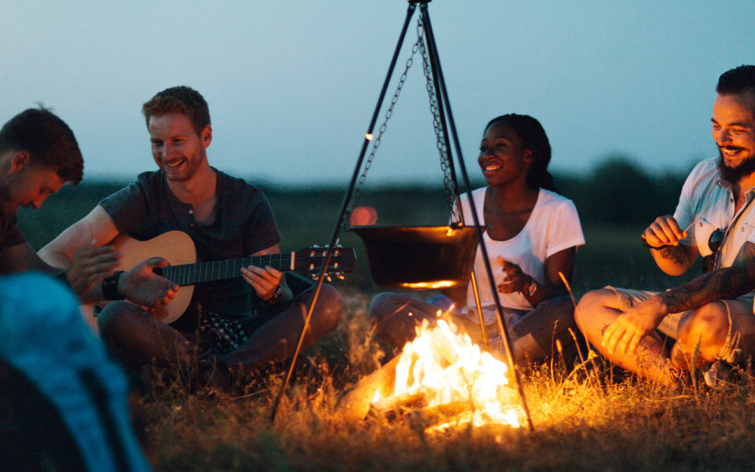 What's Better Than Playing Guitar at The Campfire?